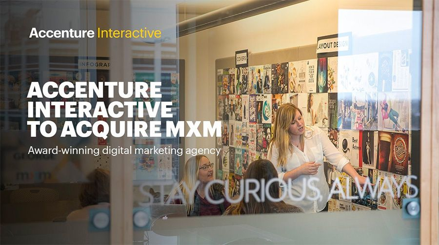 Accenture acquires digital content agency MXM