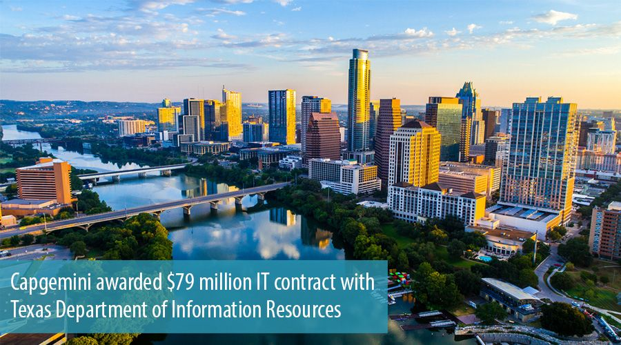 Capgemini awarded $79 million IT contract with Texas Department of Information Resources
