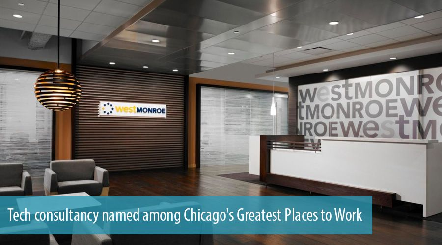 Tech consultancy named among Chicago's Greatest Places to Work