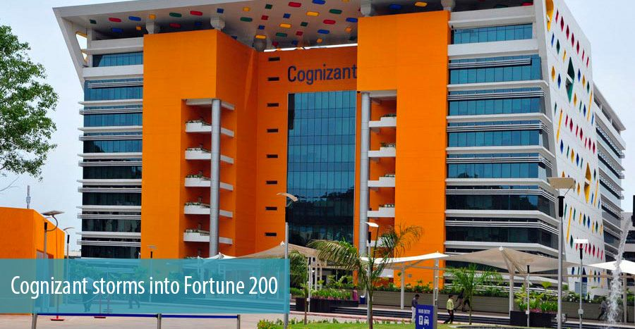 Cognizant storms into Fortune 200