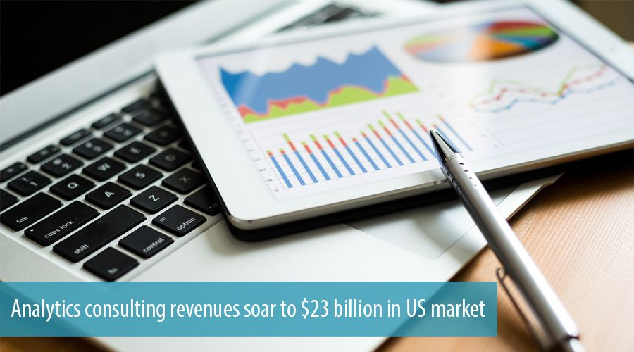 Analytics consulting revenues soar to $23 billion in US market