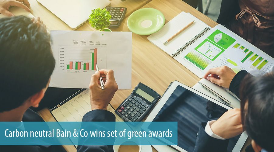 Carbon neutral Bain & Co wins set of green awards