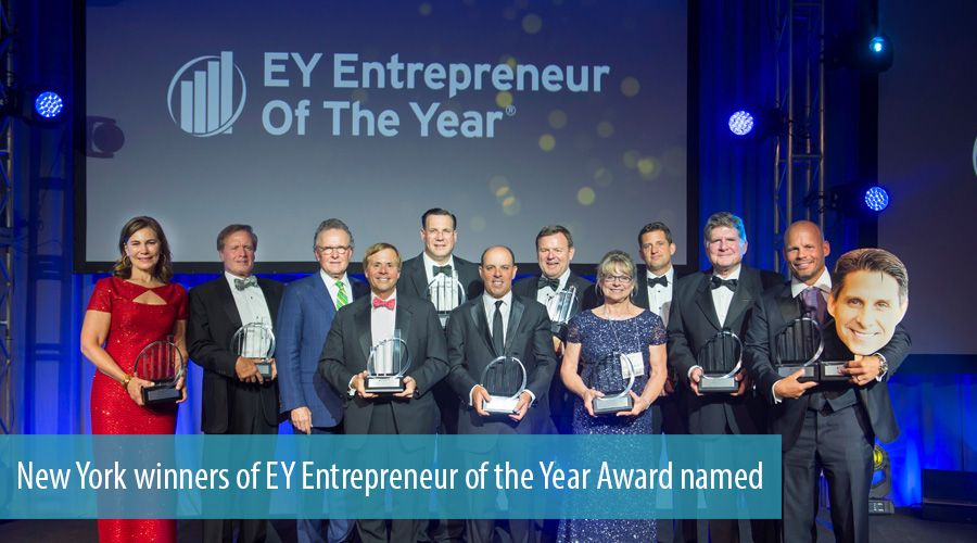 New York winners of EY Entrepreneur of the Year Award named
