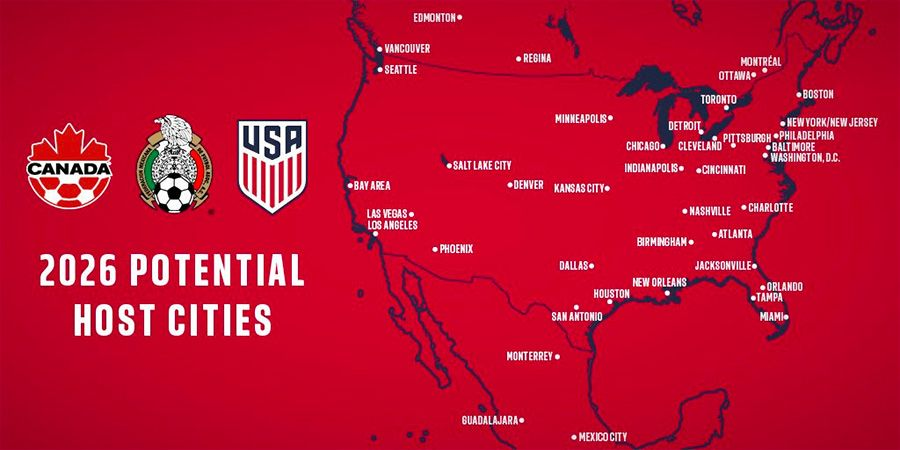 North American cities can be cautiously optimistic about hosting 2026 World Cup