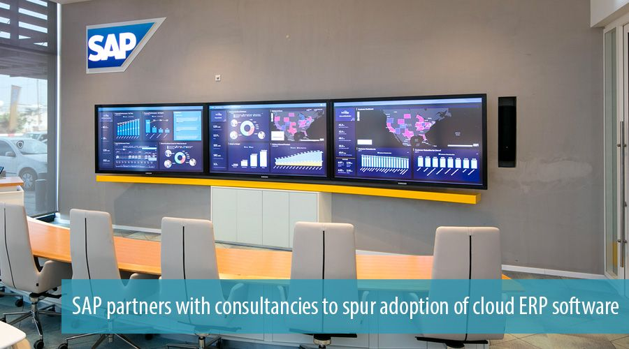 SAP partners with consultancies to spur adoption of cloud ERP software