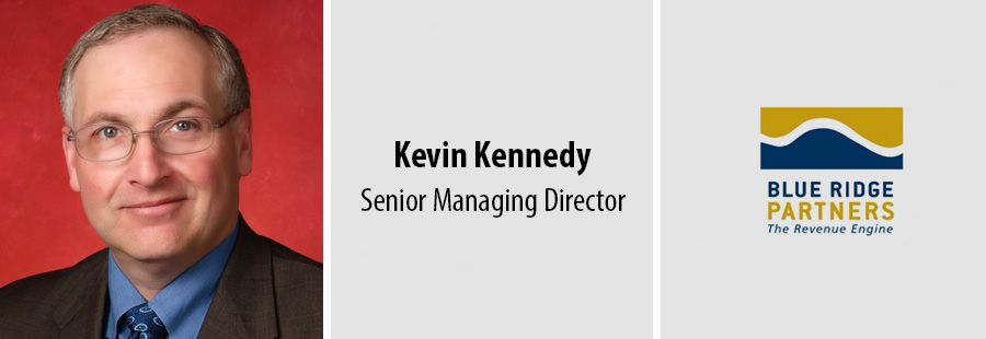 Kevin Kennedy joins Blue Ridge Partners as Senior Managing Director