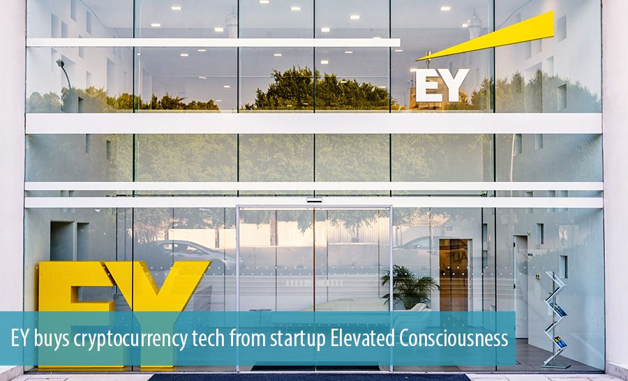 EY buys cryptocurrency tech from startup Elevated Consciousness