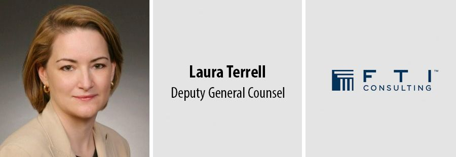 Laura Terrell joins FTI Consulting as Deputy General Counsel