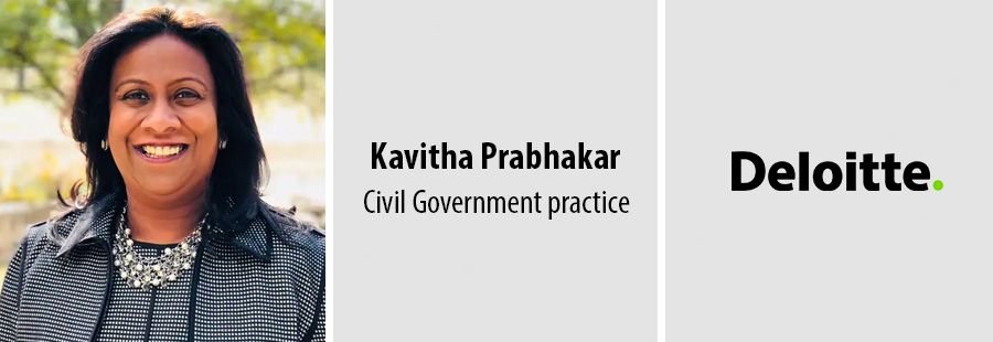 Kavitha Prabhakar named Civil Government practice leader at Deloitte