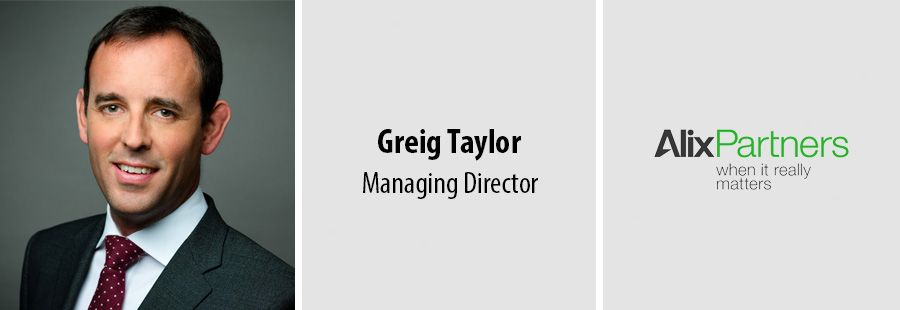 Greig Taylor joins AlixPartners as a Managing Director at