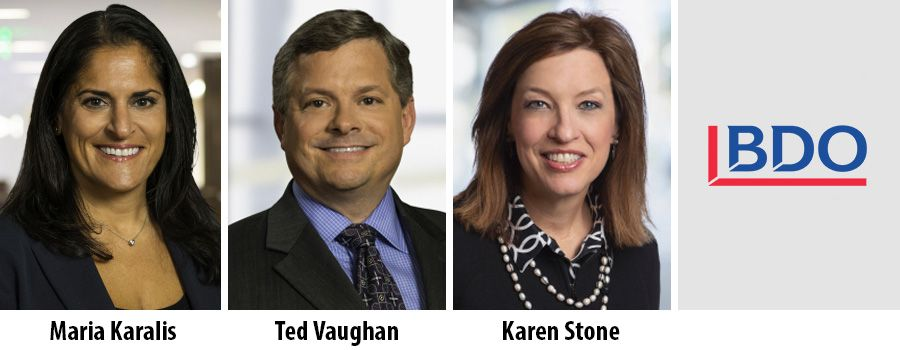 Three partners elected to BDO USA's board of directors