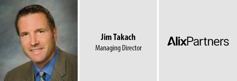 Jim Takach joins AlixPartners as Managing Director in LA office