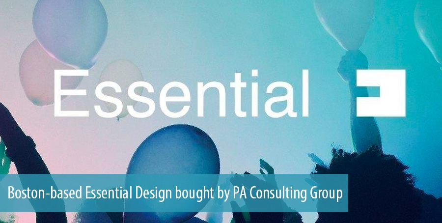 Boston-based Essential Design bought by PA Consulting Group