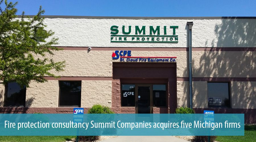 Fire protection consultancy Summit Companies acquires five Michigan firms
