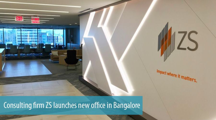 Consulting firm ZS launches new office in Bangalore