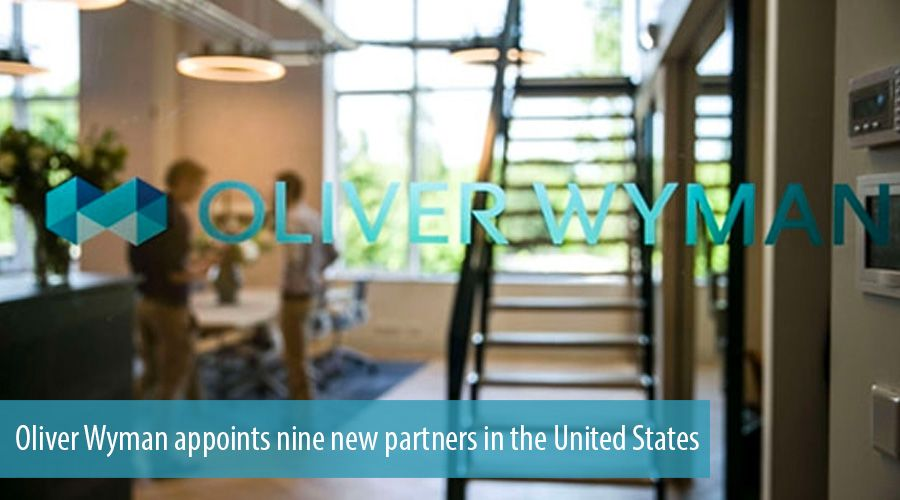Oliver Wyman appoints nine new partners in the United States