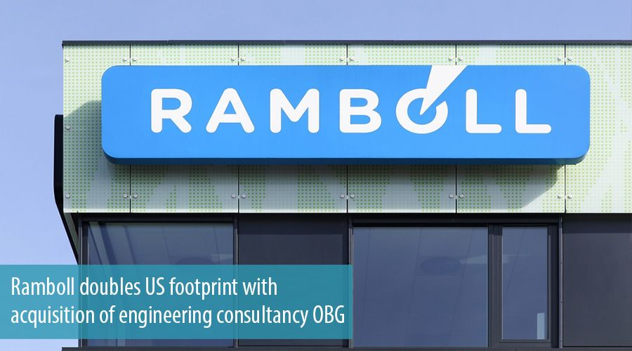 Ramboll doubles US footprint with acquisition of engineering consultancy OBG