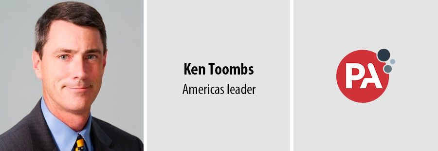 Veteran consulting exec Ken Toombs to lead PA Consulting's Americas team