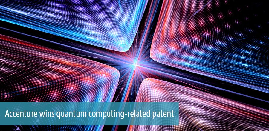 Accenture wins quantum computing-related patent