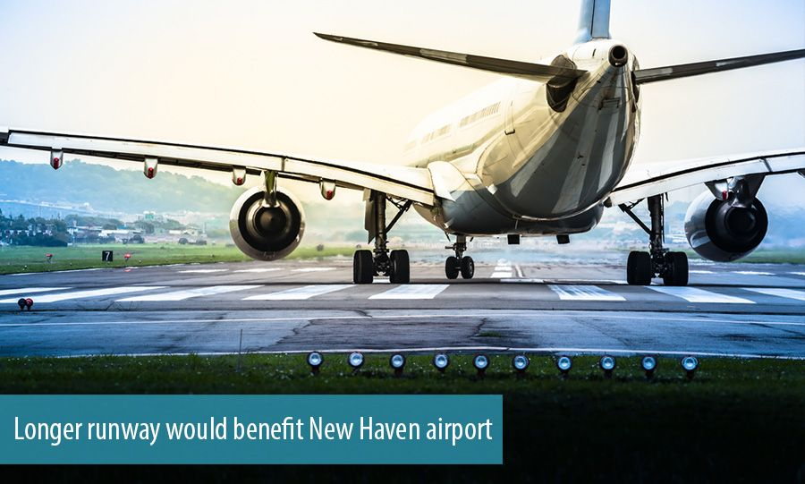 Consultants say longer runway would benefit New Haven airport