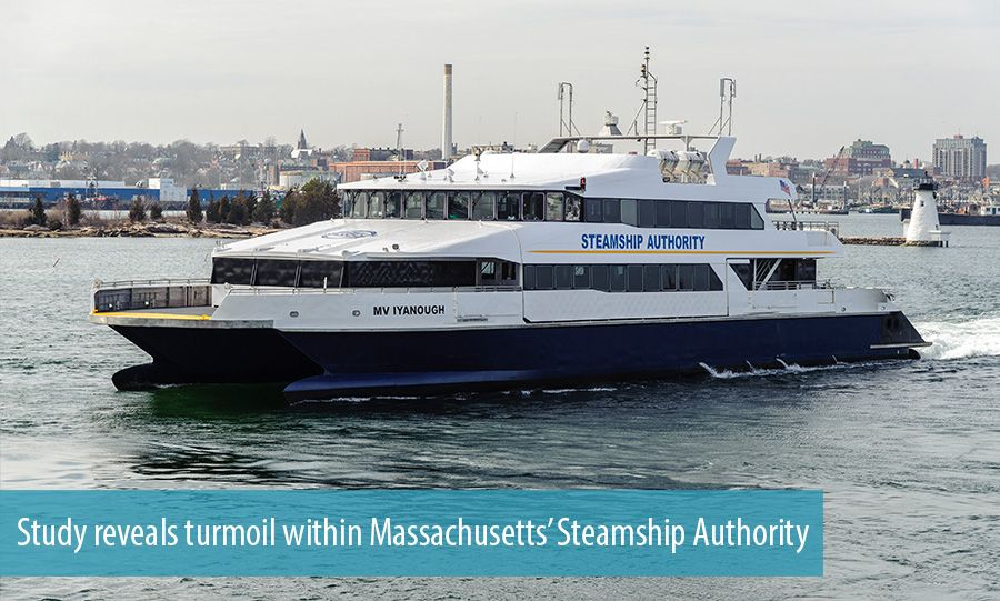 Study reveals turmoil within Massachusetts' Steamship Authority