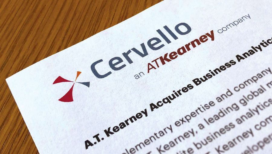A.T. Kearney buys a data analytics consultancy Cervello
