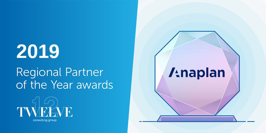 Twelve Consulting scoops Anaplan's Partner Award for the Americas