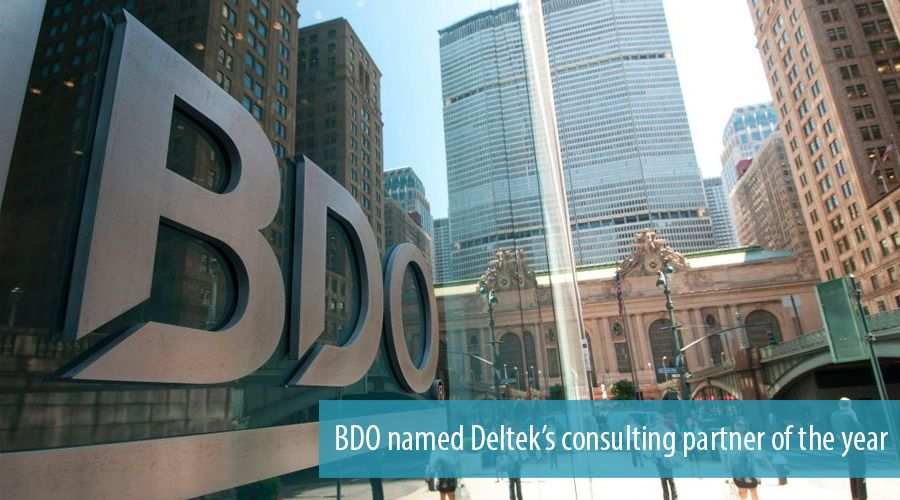 BDO named Deltek's consulting partner of the year