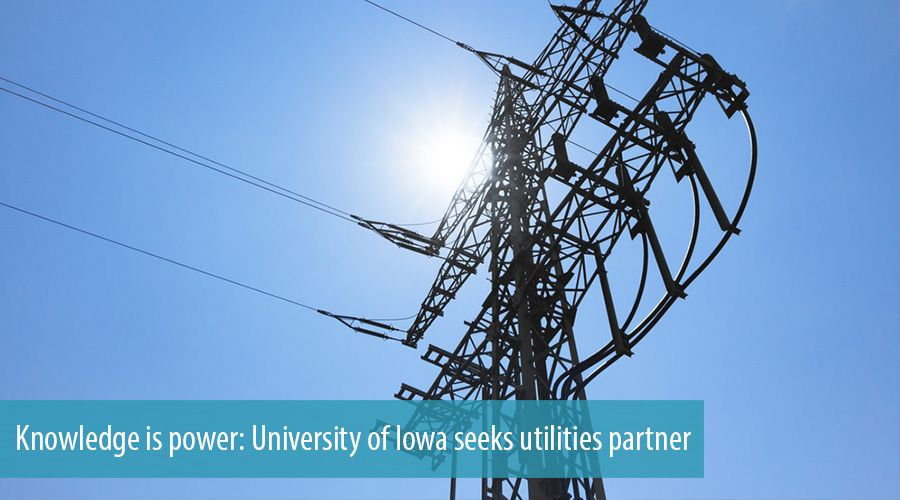 Knowledge is power: University of Iowa seeks utilities partner