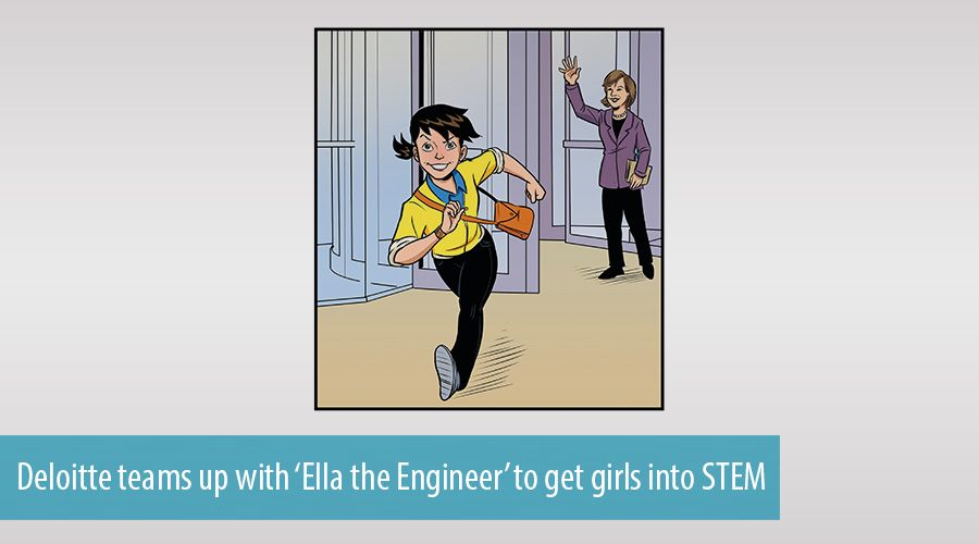 Deloitte teams up with 'Ella the Engineer' to get girls into STEM