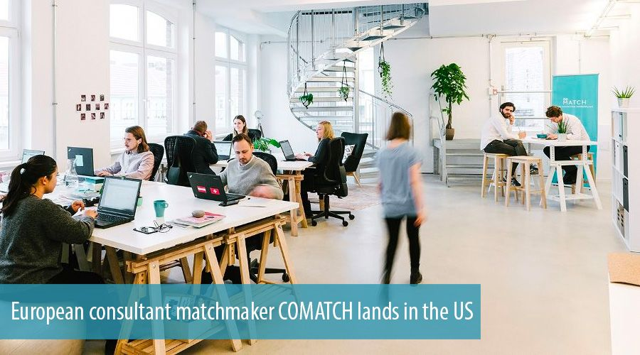 European consultant matchmaker COMATCH lands in the US