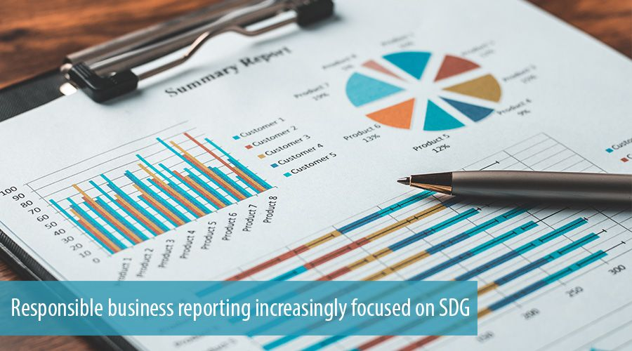 Responsible business reporting increasingly focused on SDG