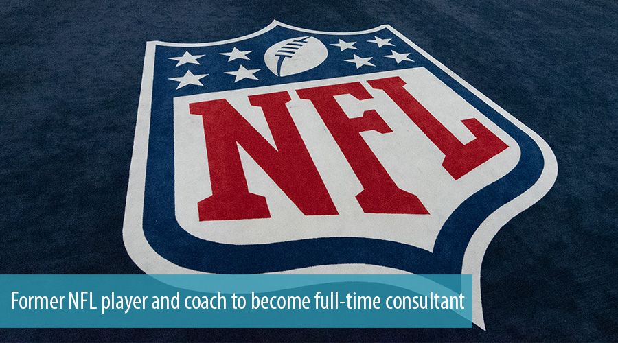 Former NFL player and coach to become full-time consultant