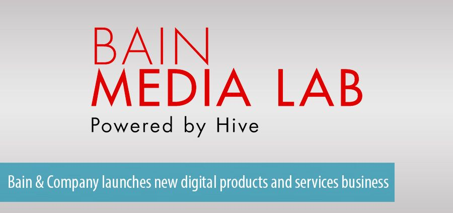 Bain & Company launches new digital products and services business