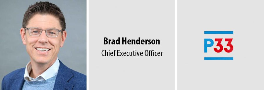 P33 appoints Brad Henderson as founding chief executive officer
