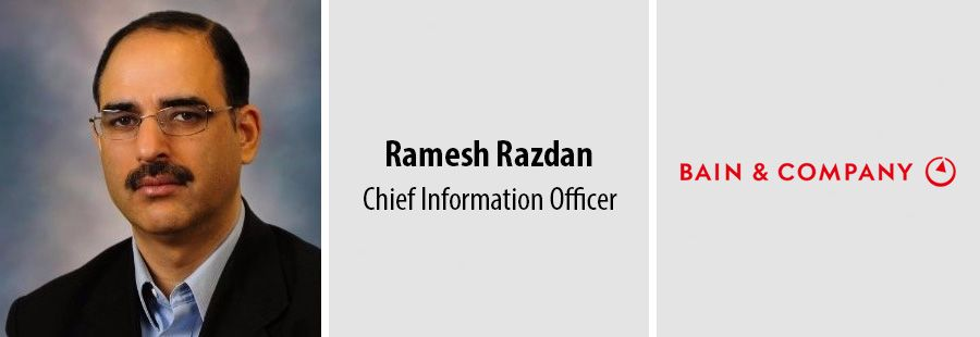 Bain & Company appoints Ramesh Razdan as chief information officer