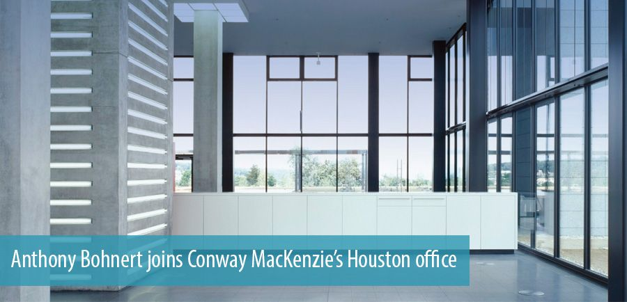 Anthony Bohnert joins Conway MacKenzie's Houston office