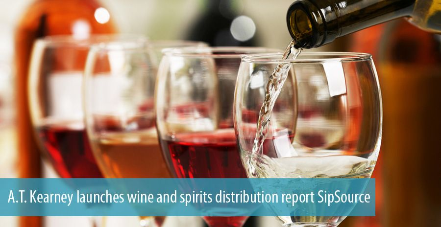 A.T. Kearney launches wine and spirits distribution report SipSource
