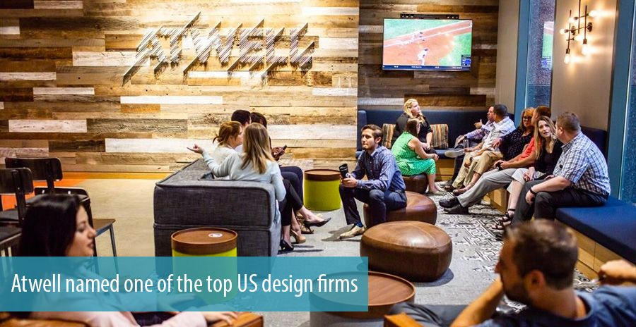Atwell named one of the top US design firms