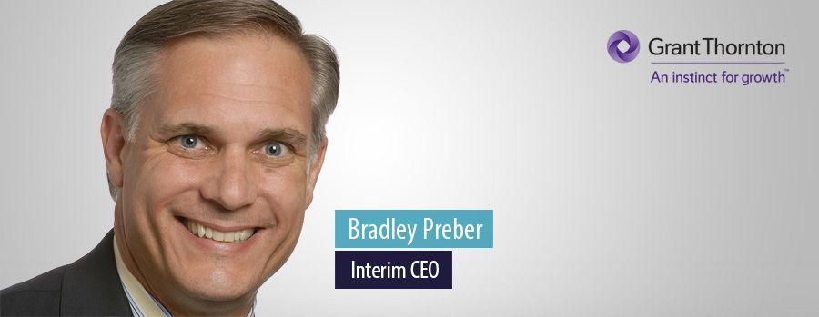 Grant Thornton US appoints Bradley Preber as interim CEO