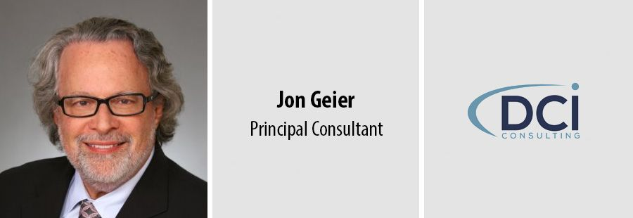 DCI Consulting Group appoints Jon Geier as principal consultant