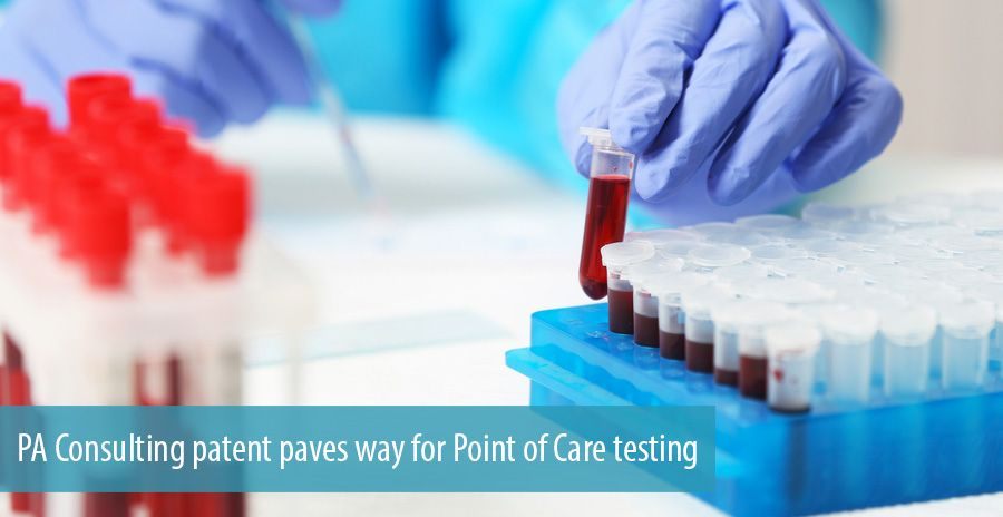 PA Consulting patent paves way for Point of Care testing