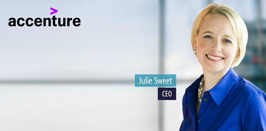 Accenture appoints Julie Sweet as chief executive officer