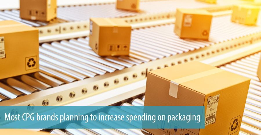 Most CPG brands planning to increase spending on packaging
