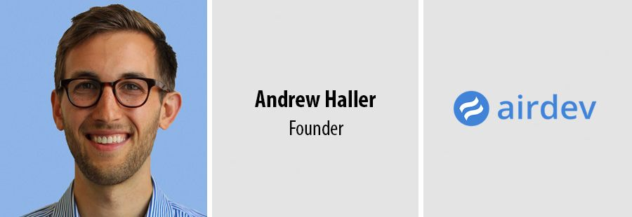 Interview with McKinsey alum and AirDev founder Andrew Haller
