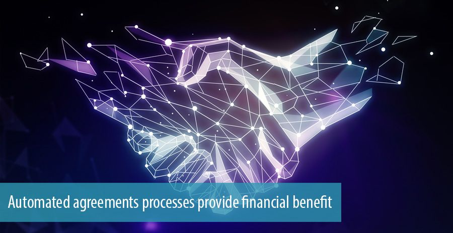 Automated agreements processes provide financial benefit, says Forrester Consulting