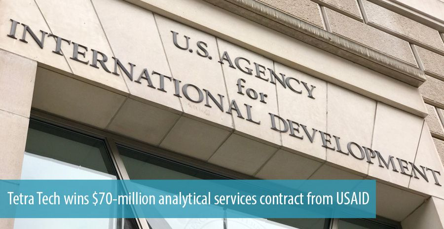Tetra Tech wins $70-million analytical services contract from USAID