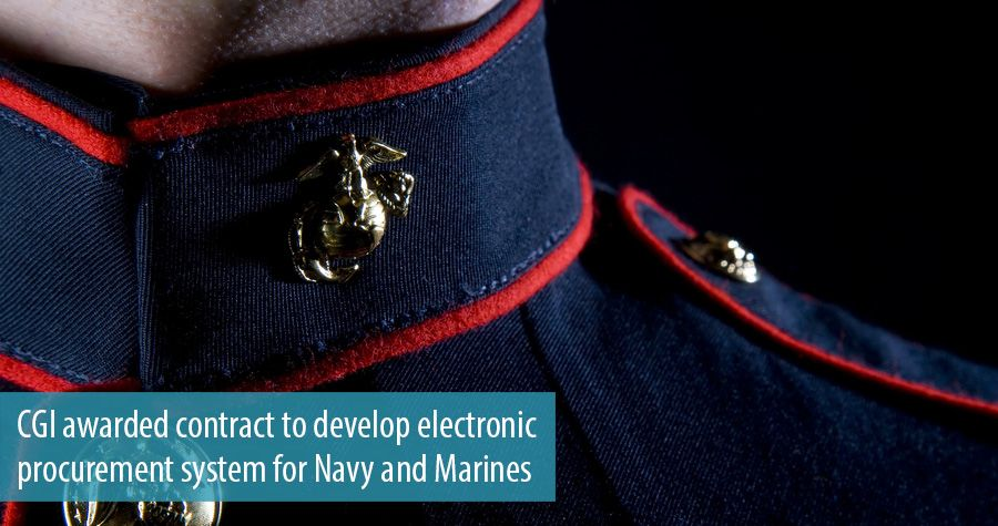 CGI awarded contract to develop electronic procurement system for Navy and Marines