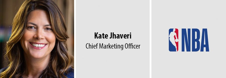 Kate Jhaveri, CMO of the NBA
