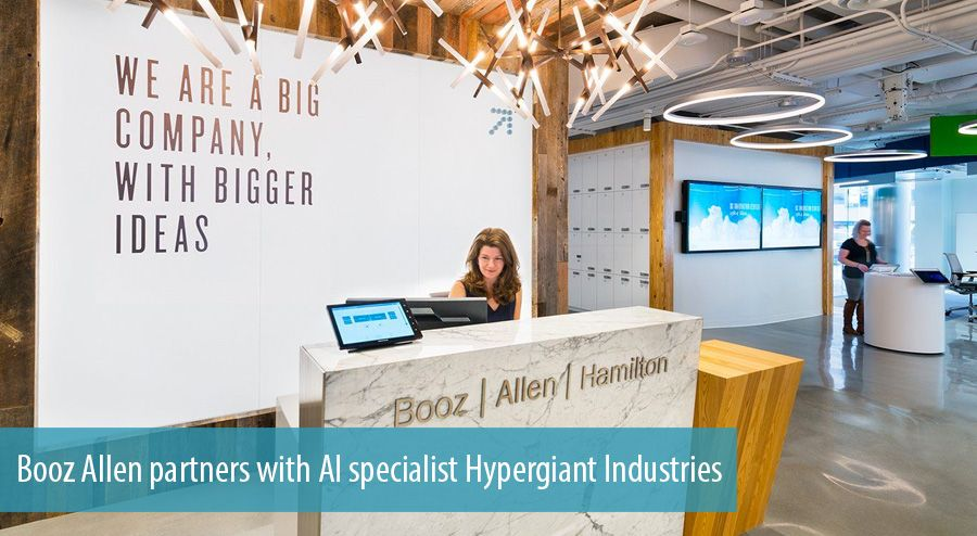 Booz Allen partners with AI specialist Hypergiant Industries